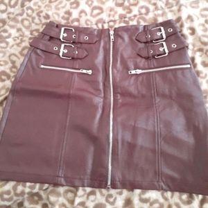 Mini above the knee skirt